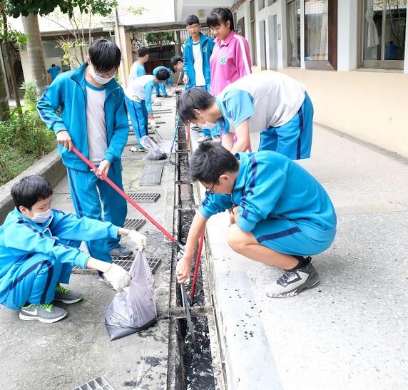 校園環境整潔一