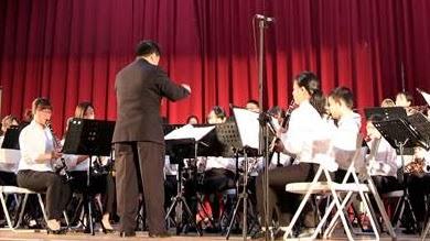 管樂團開幕演奏