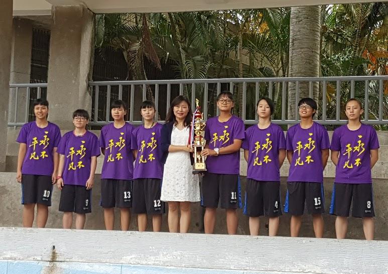 女子籃球校隊照片01